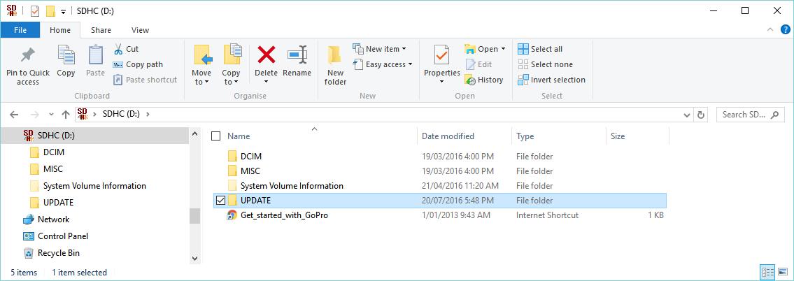 folder update wifi password for hero3